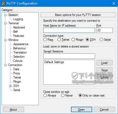 putty PuTTY   免费优秀 SSH 客户端工具软件 服务器 免费 SSH PuTTY