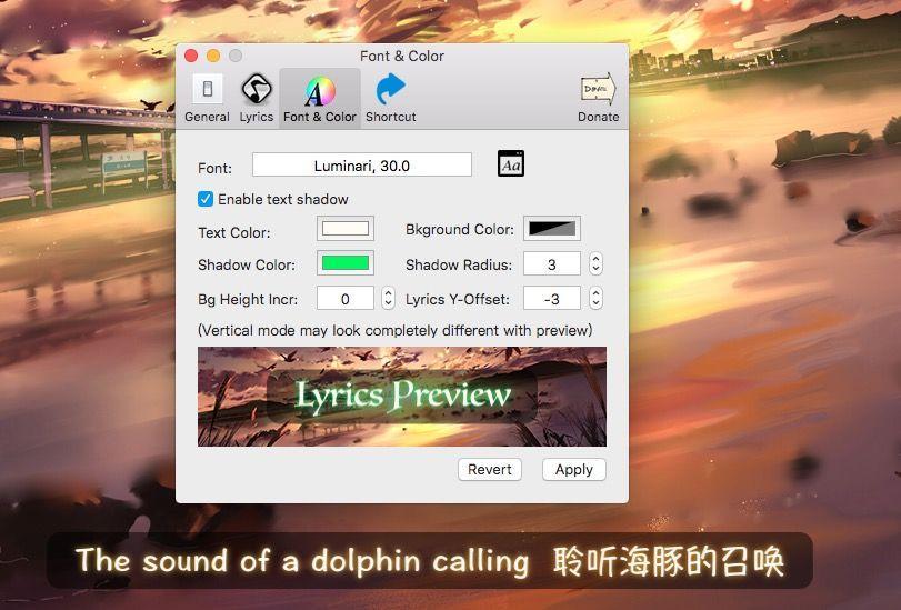 687474703a2f2f6936352e74696e797069632e636f6d2f326e6763366c752e6a7067 LyricsX   Mac下让iTunes听歌支持显示歌词 歌词 免费 LyricsX iTunes