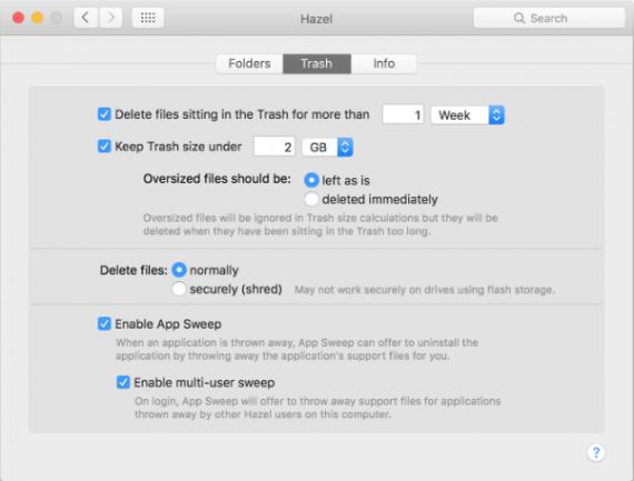 hazel2 570x433 Hazel 4.1.2 特别版   设定规则,让Mac自动管理文件 软件 管理 MAC Hazel