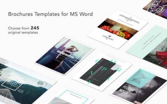 Brochures Expert 2.1 特别版 – Mac下的微软Word模板下载 模板 微软 Word Brochures Expert