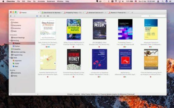 Clearview 2.0.6 特别版   Mac优秀电子书阅读器,支持多格式 阅读器 电子书 MAC Clearview
