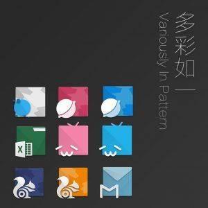poster2 for 129623 o 1b9qq7dde1kmvk9a19sqods1o2ju uid 801526 300x300 安卓图标包:左下图标,风格有特色 安卓 图标