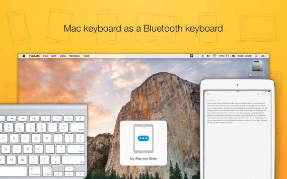 Typeeto 1.4.2 特别版   把你的 Macbook 变成 iPad 无线键盘 无线键盘 Typeeto iPad