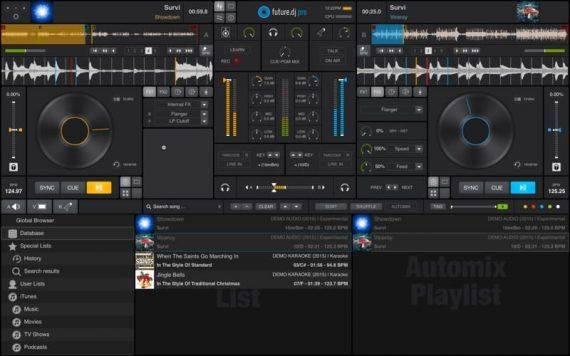 future.dj pro 1.5.1 特别版   Mac专业的DJ混音软件 MAC future.dj pro DJ