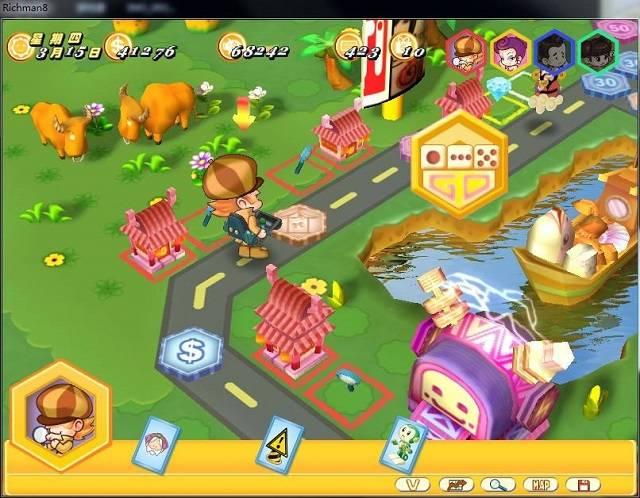 [限时免费] 经典益智游戏《大富翁8》 Windows软件 第4张