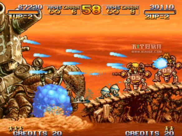 合金弹头3 (MetalSlug3) For Mac 下载 - 经典街机射击游戏移植版 MAC软件 第4张