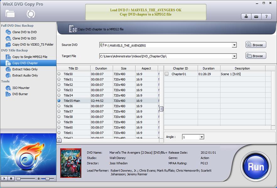 [限时免费] WinX DVD Copy Pro - 备份和解密DVD工具 Windows软件 第1张