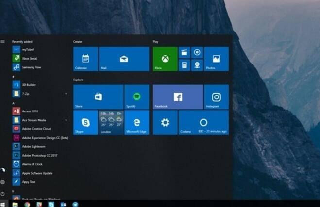 20170920132540 Windows 10 Build 16291 版本发布:修复了一些问题 Windows 10