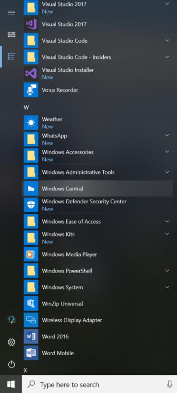 ebc338f84de58a8 360x800 微软发布Windows 10 Build 17004版本更新 Windows 10