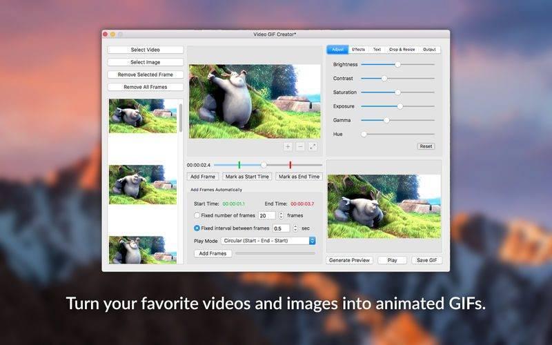 800x500bb 1 8 800x500 [限时免费] Video GIF Creator   Mac视频、图片转换为 GIF 动画 限时免费 视频 图片 动画 Video GIF Creator MAC GIF