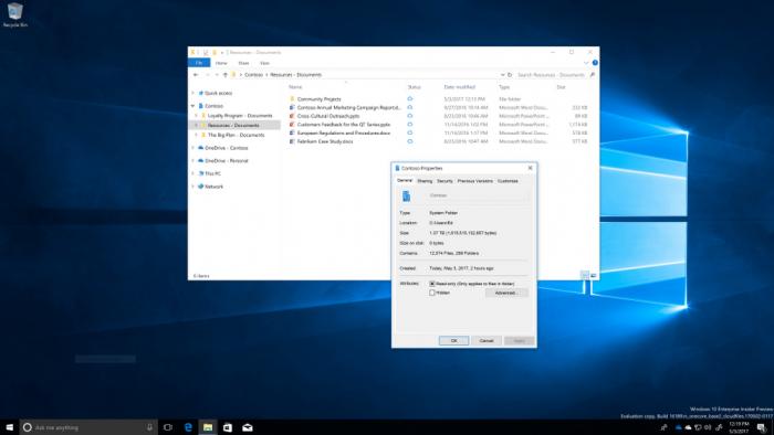 85a9cc68c955718 微软向Windows 10企业推出Files On Demand功能 Windows 10