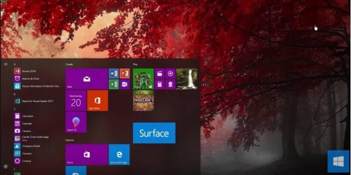 8f5bbb5c6259c00 Windows 10 Fluent毛玻璃设计被吐槽:macOS的山寨版 Windows 10