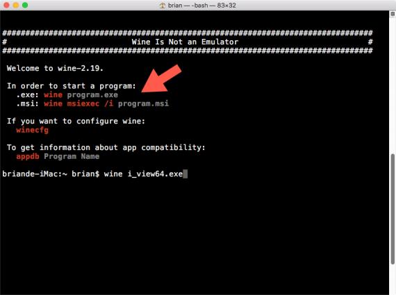 Wine 002 570x425 Wine   让 Mac 和 Linux 支持运行Windows软件