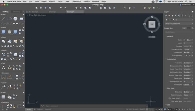 autocad 2017 mac user interface Autodesk AutoCAD 2017 苹果Mac特别版下载 AutoCAD 2017