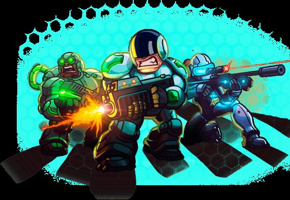 feature 570x393 钢铁战队 (Iron Marines) 安卓内购解锁版   科幻RTS神作