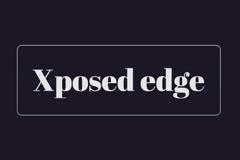 [Xposed模块] Xposed edge – 强大的安卓系统控制工具