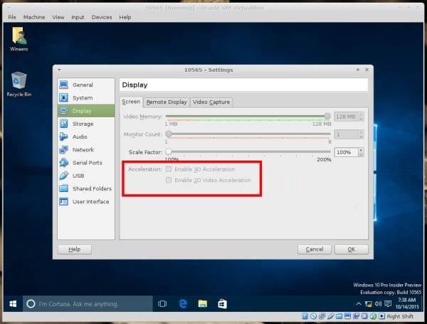 14449593497638319 解决 Virtualbox 虚拟机安装 Windows 10 花屏 花屏 Windows 10 VirtualBox
