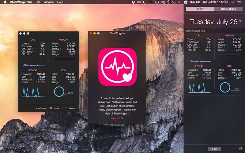 800x500bb 12 800x500 [限时免费] StatsWidget Plus   Mac通知中心系统状态查看 限时免费 StatsWidget Plus Mac限时免费 MAC