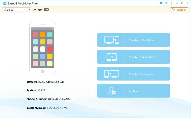Image 1 800x496 EaseUS MoviMover Free   免 Tunes 备份 iPhone 数据工具