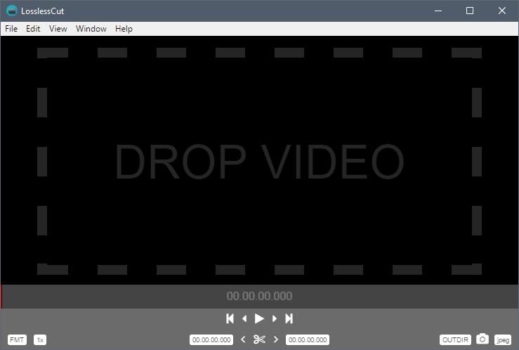 LosslessCut LosslessCut   免费好用的无损视频剪切工具(支持Win+Mac) 视频剪切 免费 LosslessCut