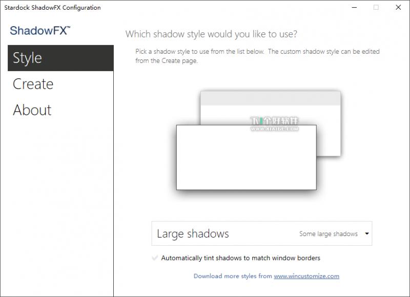 Stardock ShadowFX 800x580 Stardock ShadowFX 1.2 特别版   给窗口自定义阴影效果(支持Win10) Stardock ShadowFX 破解版 Stardock ShadowFX 1.2
