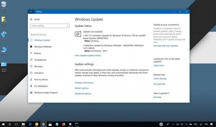 29829c8682e4517 Windows 10秋季创作者更新 发布KB4051963累积更新 Windows 10