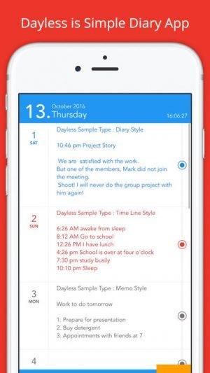 392x696bb 22 300x533 [限时免费] Dayless   iOS简简单单的记录日记 限时免费 日记 ios限时免费 iOS Dayless