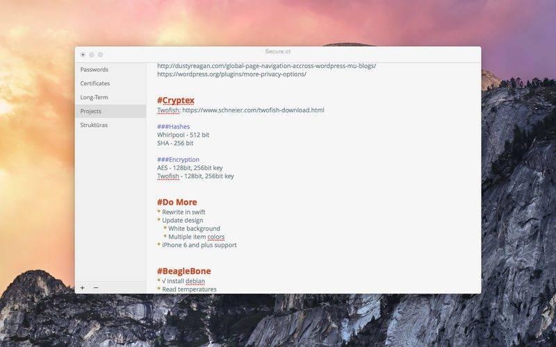800x500bb 2 800x500 [限时免费] Cryptex   Mac 的 Markdown 编辑器,支持加密 限时免费 Markdown Mac限时免费 Cryptex