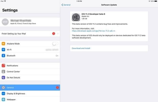 8200e37d55b8b5c iOS 11.2 和 macOS High Sierra 10.13.2 beta 6 推送更新 iOS 11