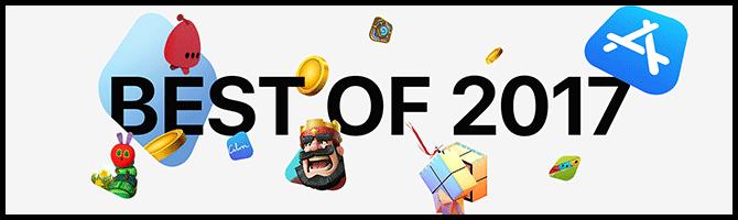 2017年中国区App Store年度优秀应用/游戏