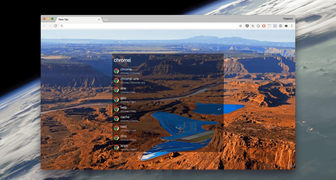 Chrome 页面