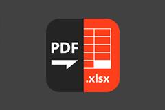 [限时免费] PDF to XLSX Master - 将 PDF 文档转换为 Excel 文档