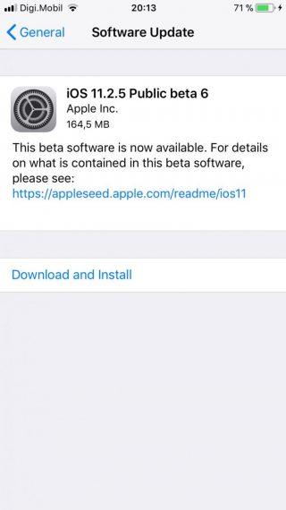 0222bf55e75b20d 320x570 苹果发布 iOS 11.2.5 / tvOS 11.2.5 Beta6