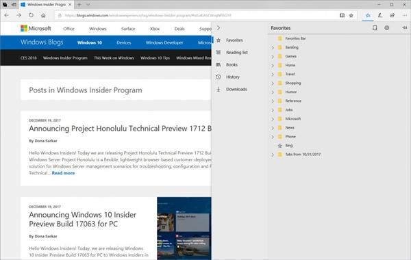 addddb91d160e7c Windows 10快速会员推送Build 17074预览版 Windows 10