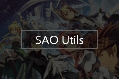 SAO Utils - 很酷的刀剑神域桌面启动器,还支持VR模式