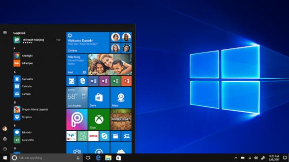 windows10s 570x321 微软发布 Windows 10 更新修复处理器安全漏洞 Windows 10
