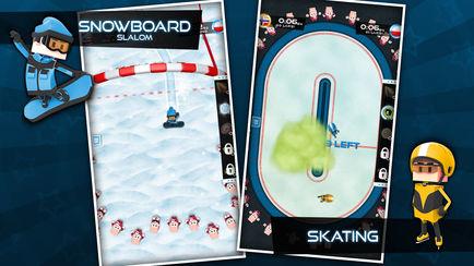 434x0w 1 [限时免费] Flick Champions Winter Sports   全能冠军赛:冬季运动会 限时免费 滑雪 滑冰 ios限时免费