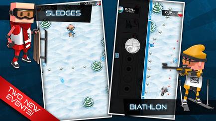 434x0w 2 [限时免费] Flick Champions Winter Sports   全能冠军赛:冬季运动会 限时免费 滑雪 滑冰 ios限时免费