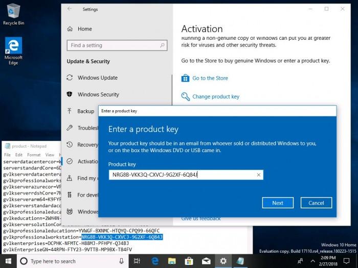 9e9d42f5dccf5b4 Windows 10 Build 17110发布:针对企业用户的改进 Windows 10