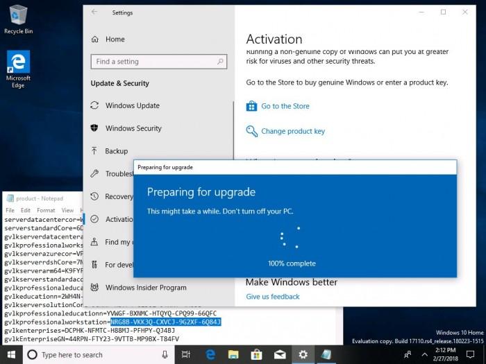 b97b6ada934c8ff Windows 10 Build 17110发布:针对企业用户的改进 Windows 10