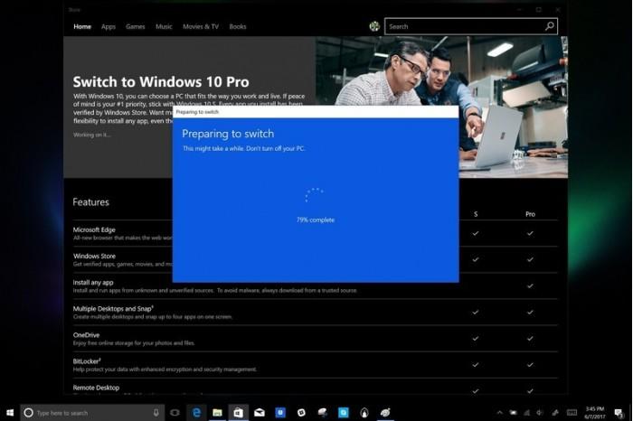 c8f380e6925c7ae Windows 10 S可以免费升级Windows 10家庭版 Windows 10