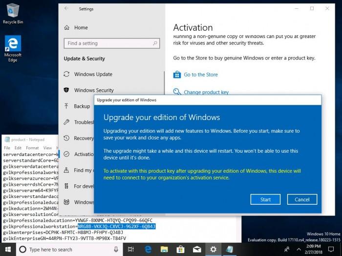 daa96460606e7f1 Windows 10 Build 17110发布:针对企业用户的改进 Windows 10