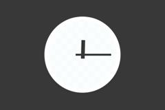 迷你时钟 - 在 Mac 的 Dock 上添加一个优雅时钟