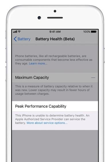 """1044594c20fdb7b iOS 11.3将增""""电池健康""""功能:专用于控制CPU性能 iOS 11"""