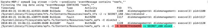 200e24c52505eb0 macOS High Sierra 明文显示密码BUG 已经修复 macOS