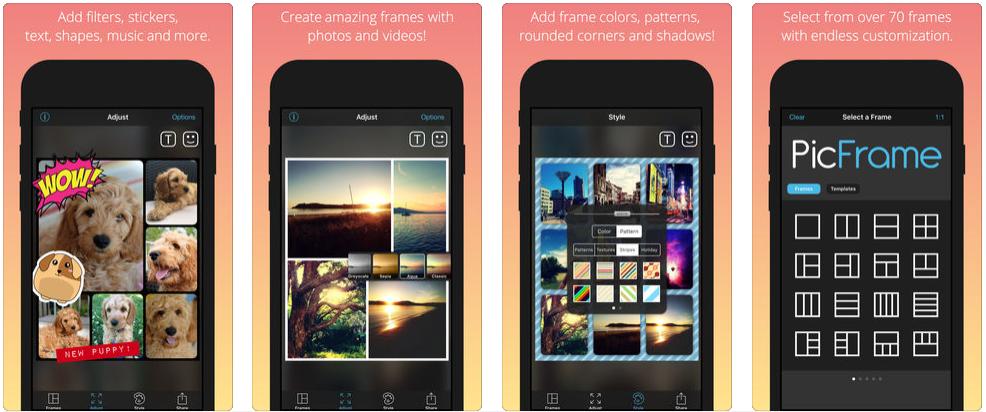 20180314143321 [限时免费] PicFrame   iOS制作图片/视频相框效果 限时免费 视频 相框 图片 PicFrame ios限时免费