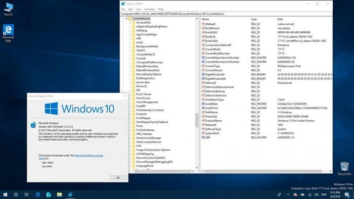 3fd913c1c1b80bf Windows 10 Build 17115发布:隐私页面获重大改善 Windows 10