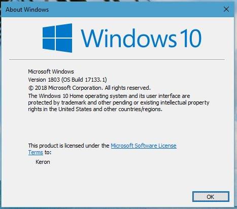 微软发布 Windows 10 Build 17133 版本更新 热点资讯 第1张