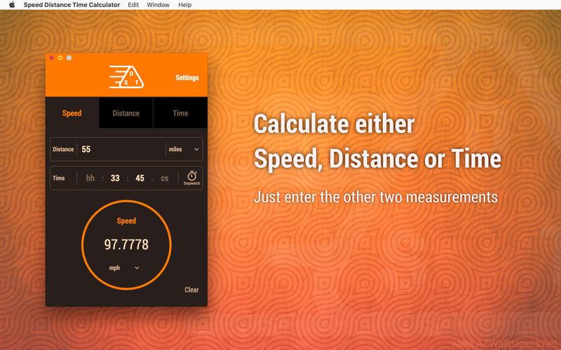 800x500bb [限时免费] Speed Distance Time Calculator   Mac计算速度、距离、时间工具 限时免费 速度 距离 计算器 单位 Mac限时免费