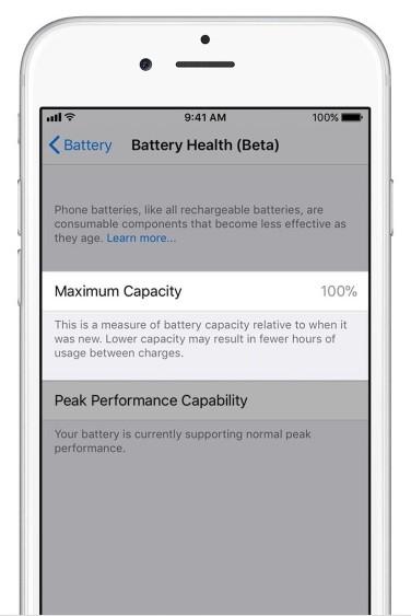"""955b82c63a18ab6 iOS 11.3将增""""电池健康""""功能:专用于控制CPU性能 iOS 11"""